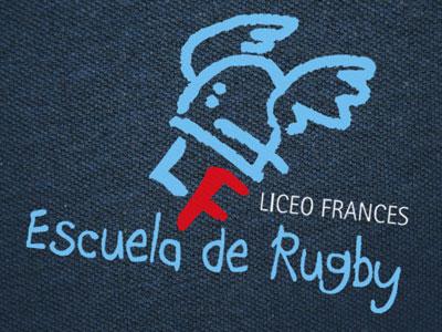 Liceo Francés Escuela de Rugby. Diseño de logotipo