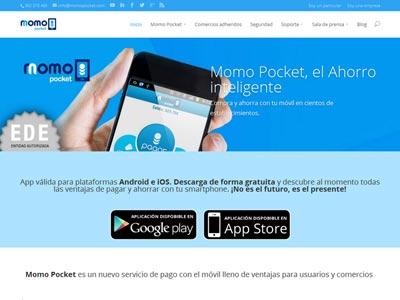 Diseño web Momopocket