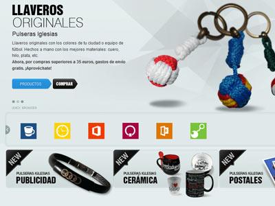 Diseño web Pulseras Iglesias