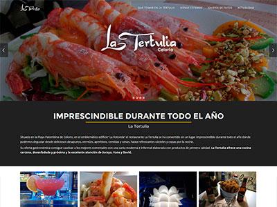 Diseño web | La Tertulia Celorio