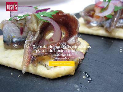 Diseño web | Restaurante Jose´s