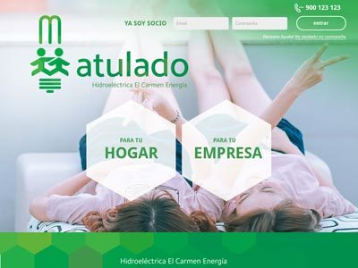 Diseño web Atulado