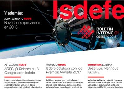 Newsletter Isdefe