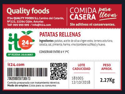 Etiquetado Quality Foods