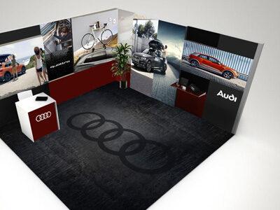 Diseño stand Audi