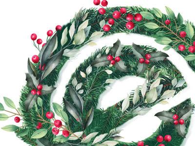 Felicitación navidad - Farbog