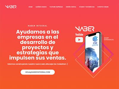 Landing page Naber
